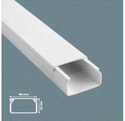 Короб пластиковый 40х25