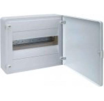 Щит GOLF 12-модуля с белыми дверями VS112PD (накладной монтаж)