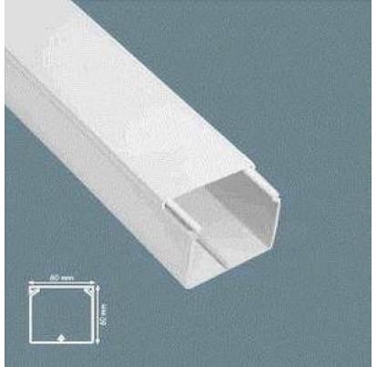 Короб пластиковый 60х60