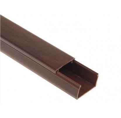 Короб пластиковый 15х10 темно-коричневый Sokol